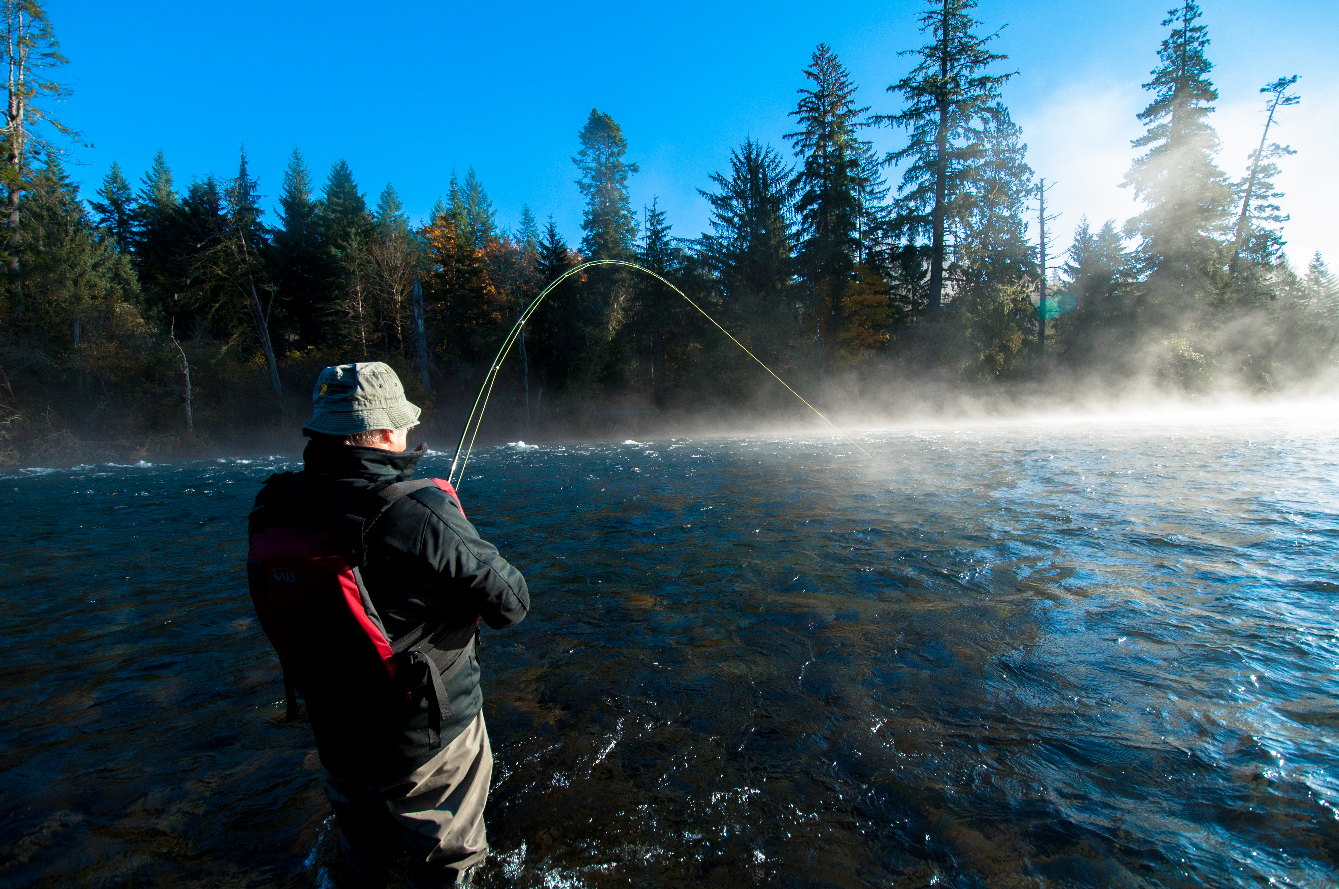 Vancouver island fly fishing trips vancouver island for Fly fishing charters
