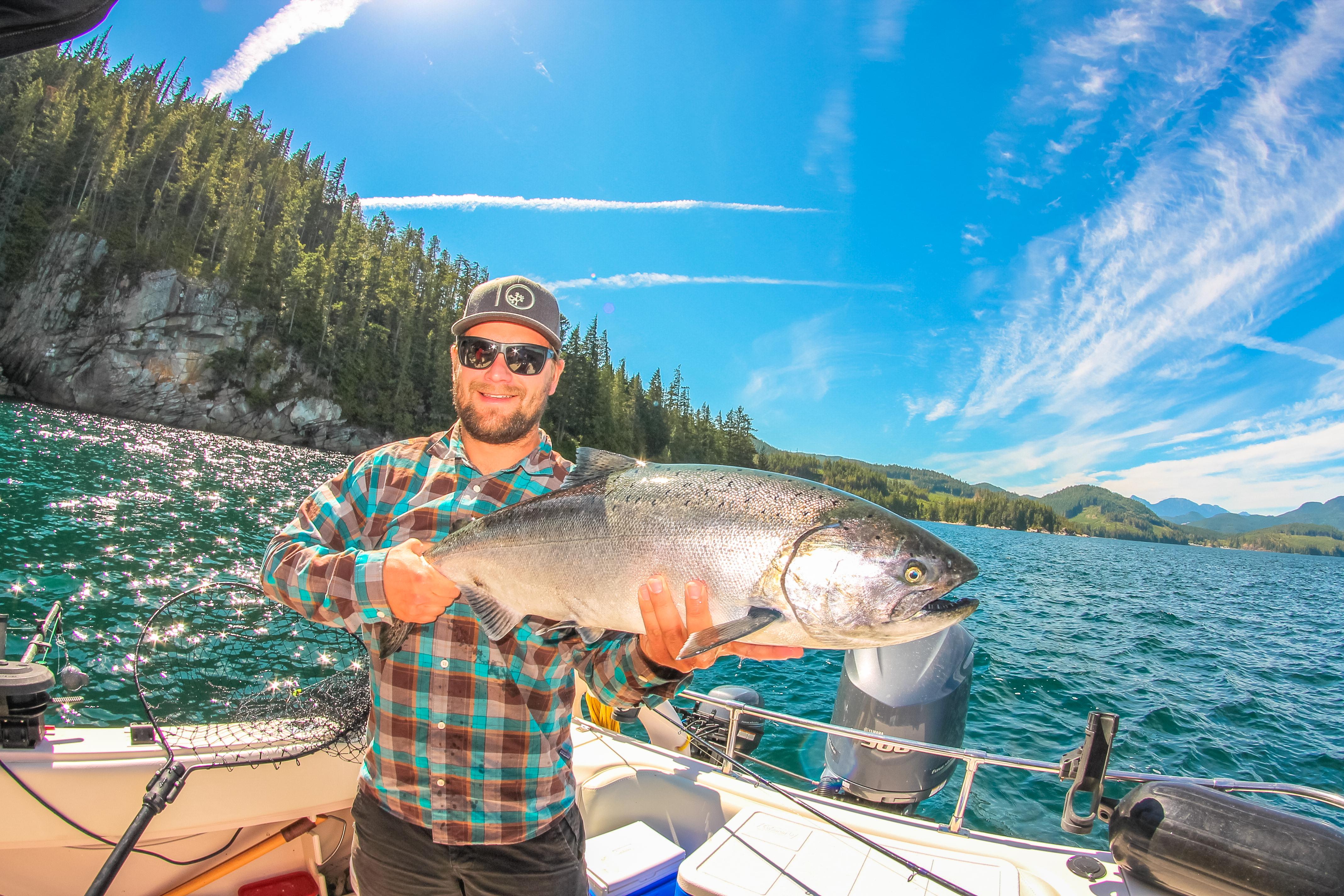vancouver island salmon fishing trips vancouver island