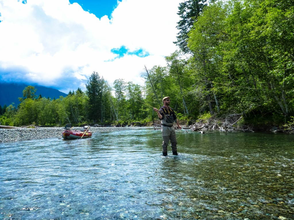 flyfishing vancouver island river