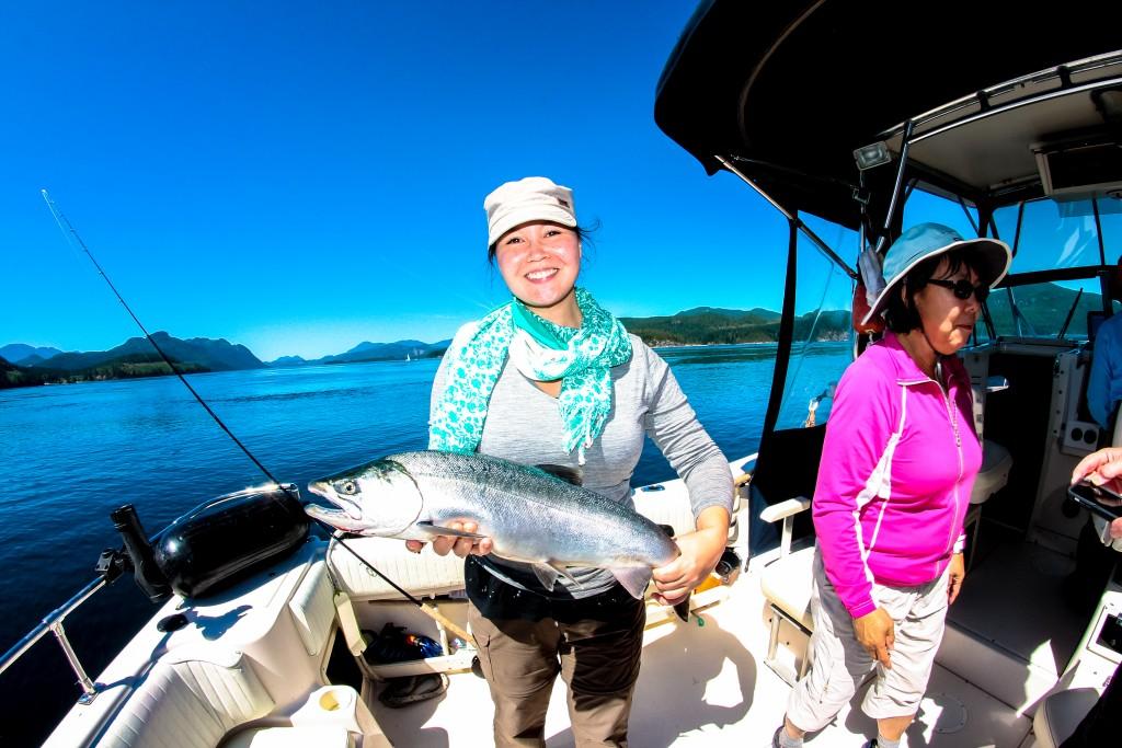Salmon Fishing Vancouver Island