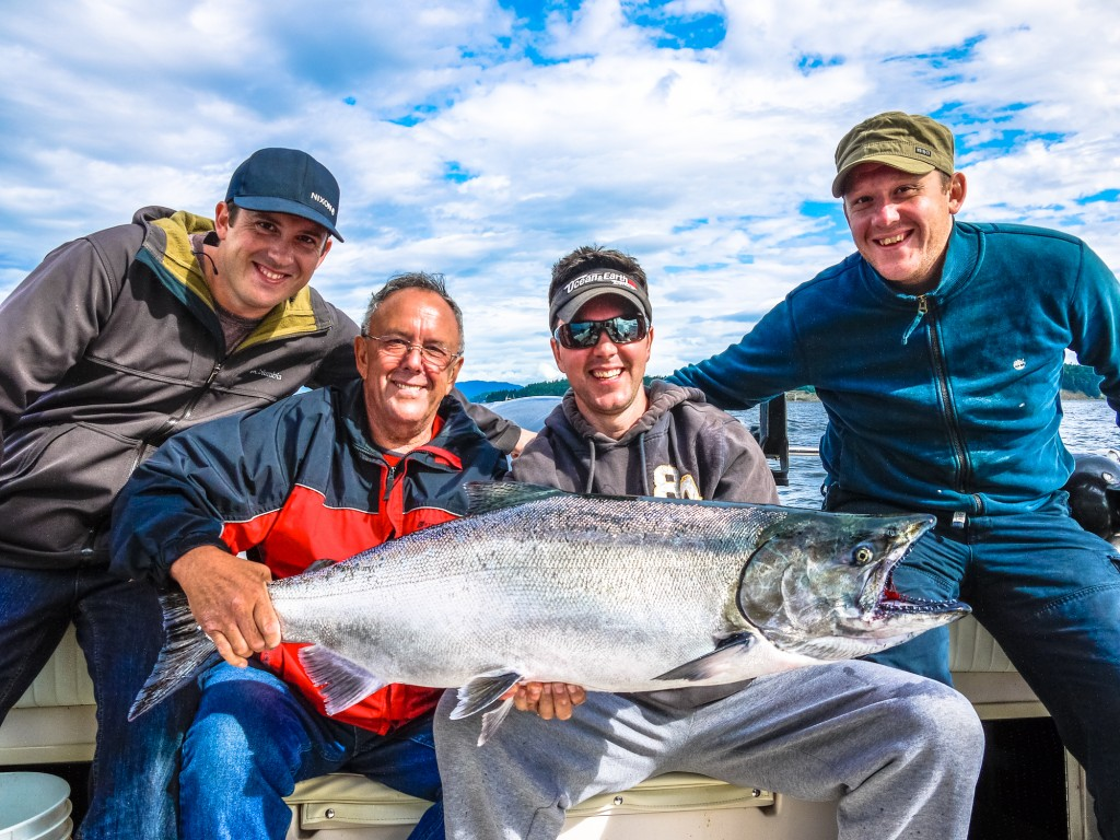 Vancouver island Salmon Fishing charters