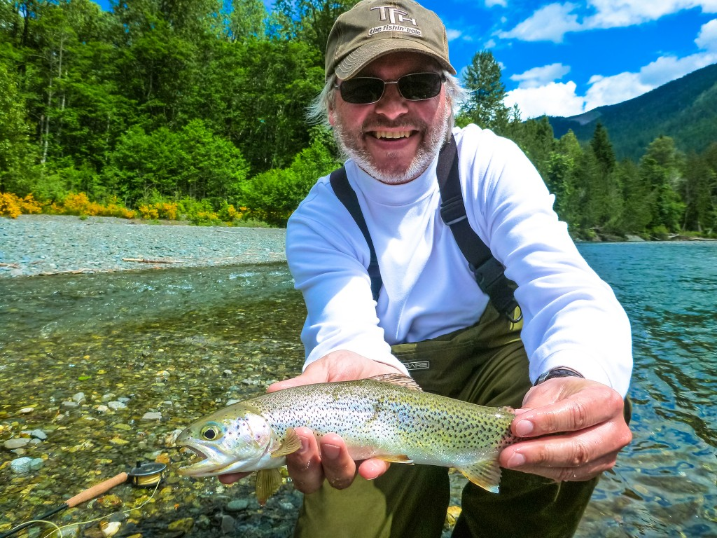 Vancouver Island trout flyfishing